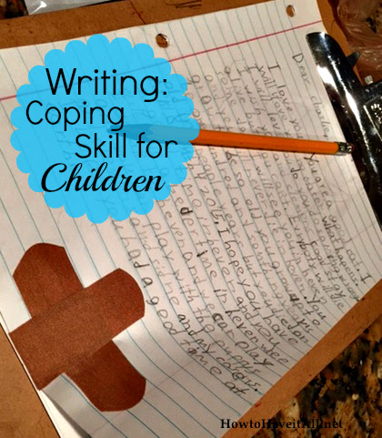 Writing as a Coping Skill for Children