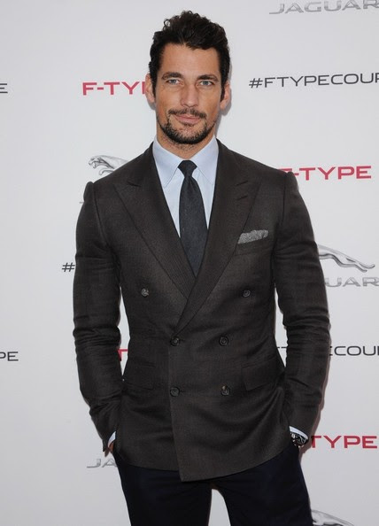 David Gandy - Jaguar F-TYPE Coupe Launch Party