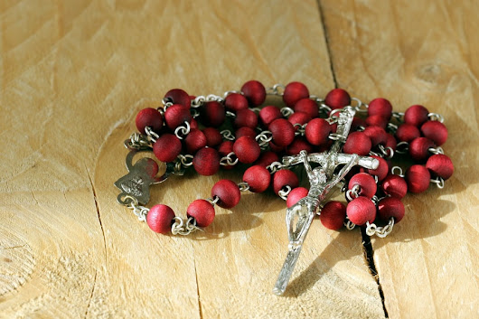 Lent: Sometimes the Rosary is All You Need - Designs by Birgit