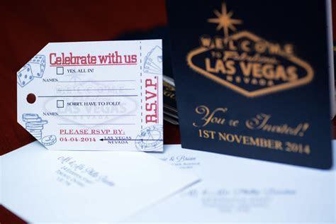 Australian Passport wedding invitation to Las Vegas