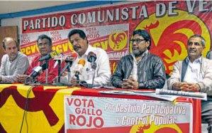 Perfecto Abreu Nieves, vocero del Buró Político del PCV