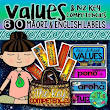 NZ Curriculum Key Competencies & Values {Display Labels}
