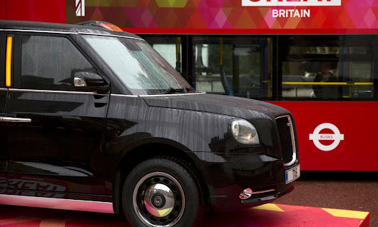 London's black cabs to go green with a little help from China