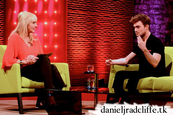 Daniel Radcliffe on Saturday Night with Miriam