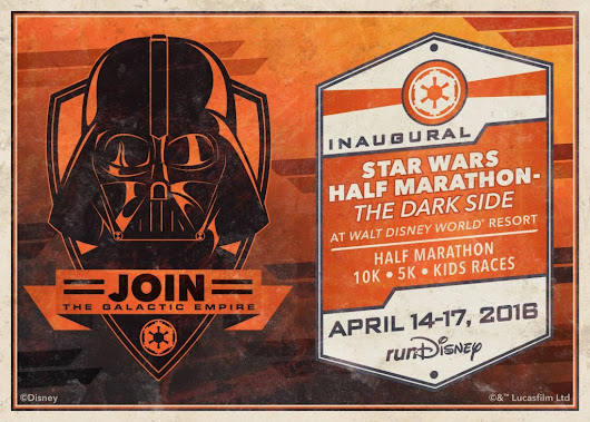 Star Wars runDisney Half Marathon Announced for Walt Disney World – The Dark Side