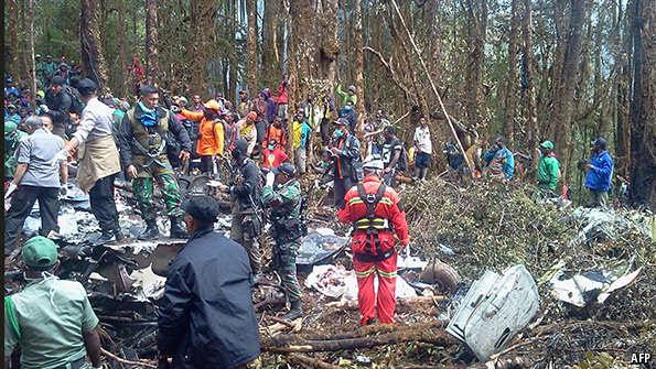 Papua Air Crash