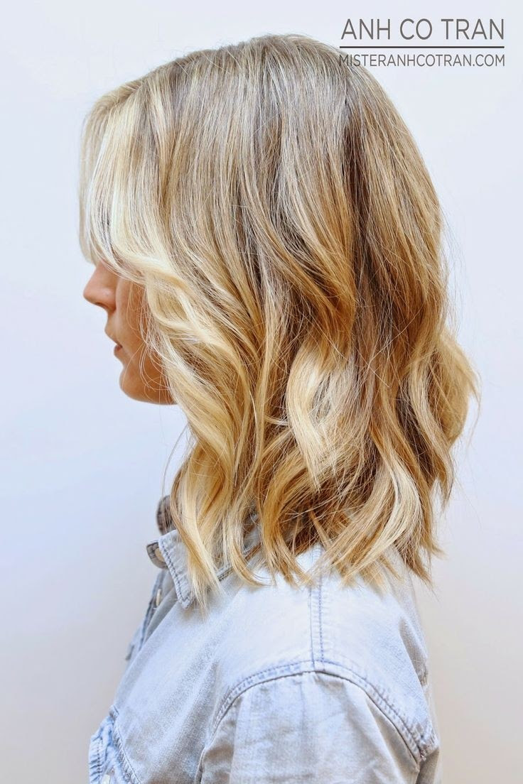 Medium Blonde Hairstyles 2015