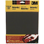 "3m 9088 Wet/dry Sandpaper, 9"" X 11"", Assorted Grit, 5-pack"