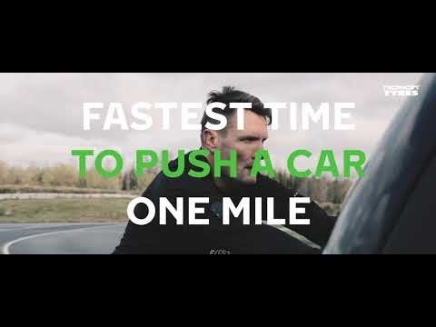 New world record for pushing a car (VIDEO)