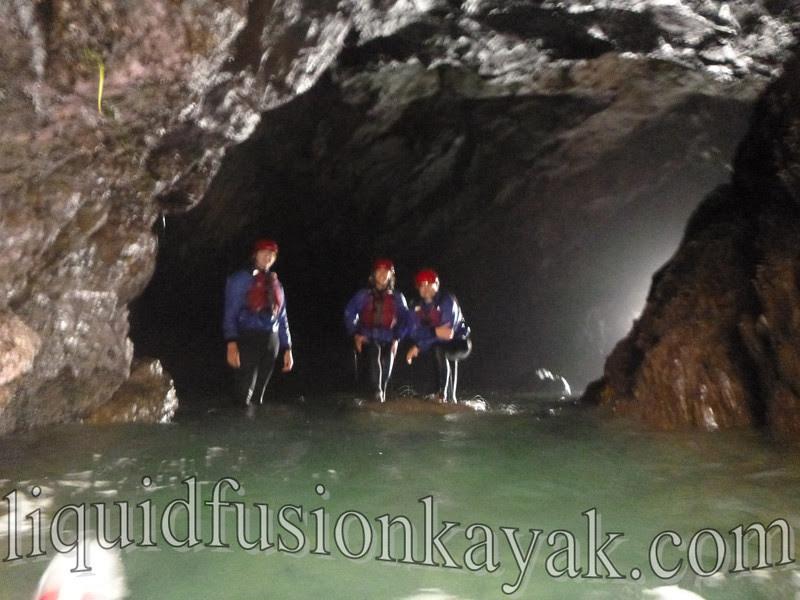 sea cave mendocino swimming