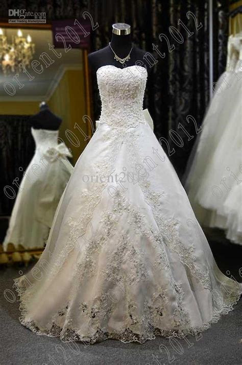Wedding Gown With Pearls
