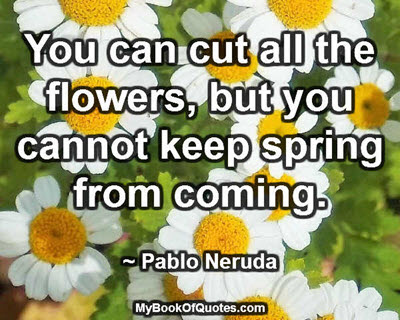 You can cut all the flowers