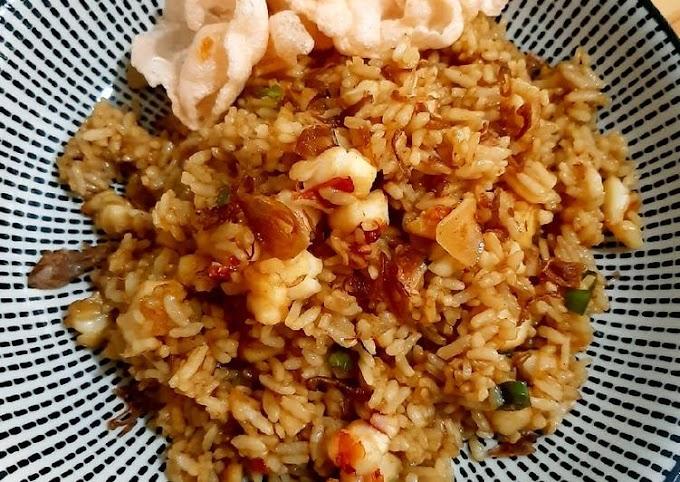 Resep Nasi Goreng Udang Yang Enak