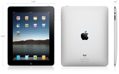 Apple iPad Official Pictures