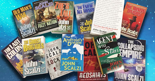 Can You Win Enough John Scalzi Books to Build a Book Fort?