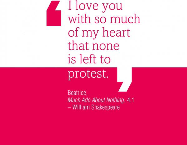 Swoon-worthy Shakespeare Quotes about Love ... …