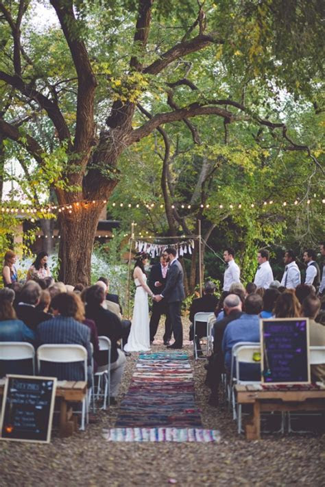 Eclectic bohemian wedding ceremony   Wedding Inspiration