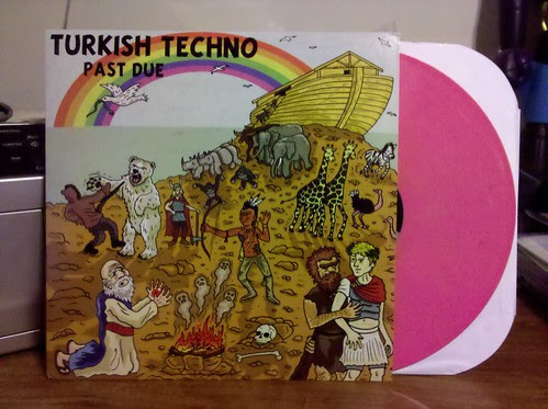 Turkish Techno - Past Due LP - Pink Vinyl /100