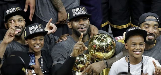 Cleveland Cavaliers Champion NBA 2016 !