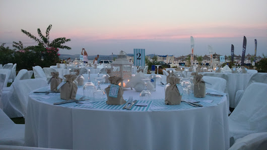 γαμηλια δεξιωση στο Beach Bar PASIR – Halkidiki Catering Services