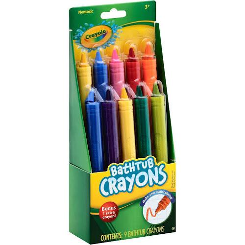 crayola bathtub crayons 9 count - Crayola Bathroom Crayons