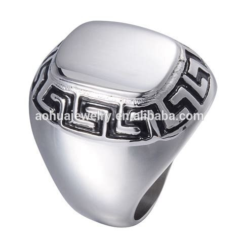 Mens Stainless Steel Ring Design Your Own Stainless Steel