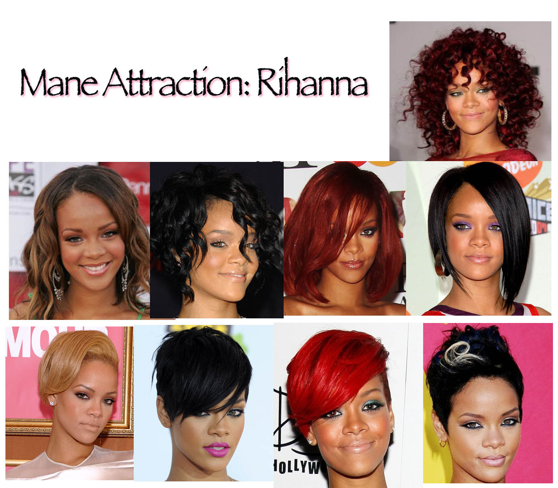 Rihannas Hairstyles Style Vibes
