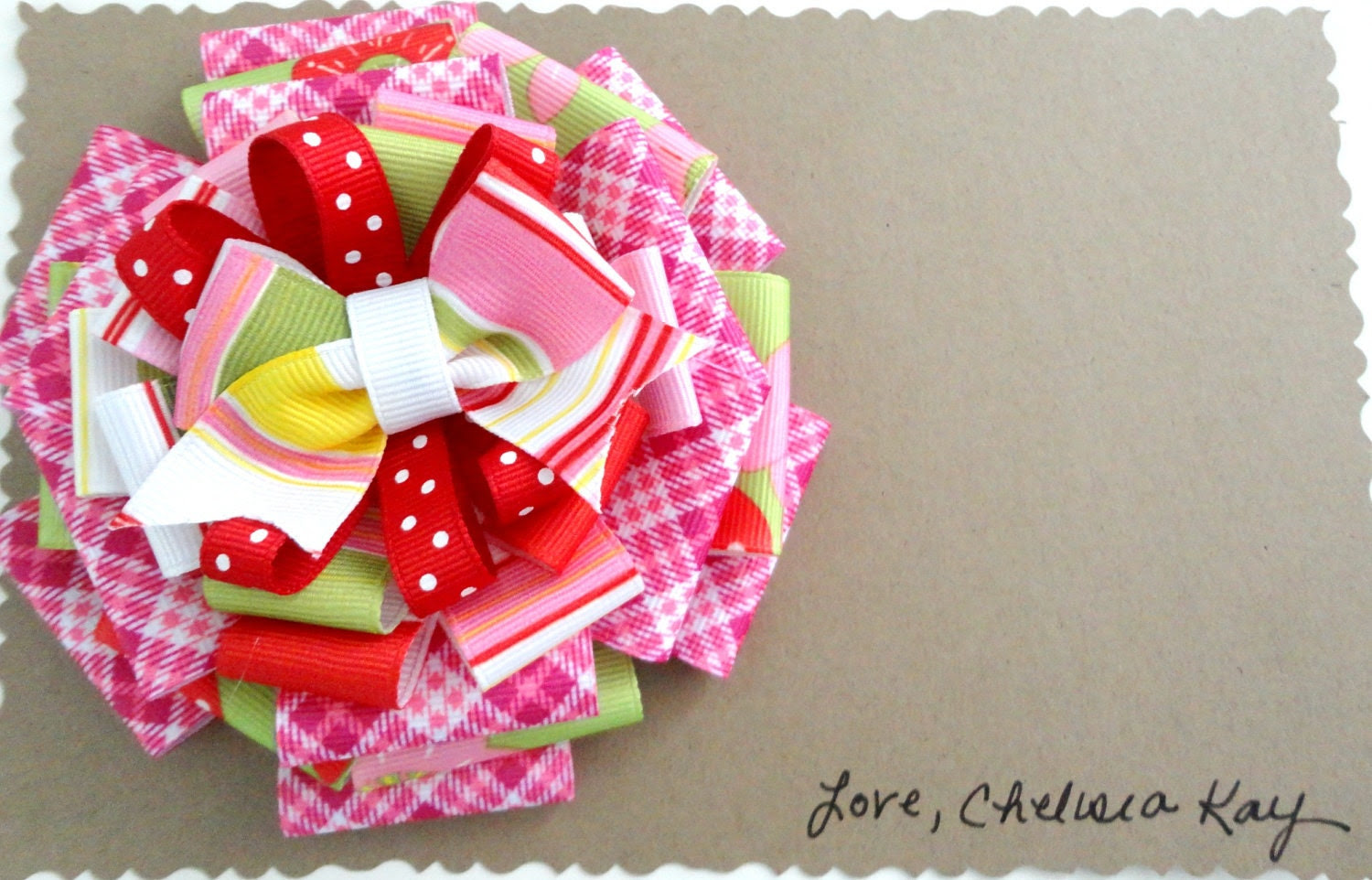 The Madeline - Large Boutique Hair Bow