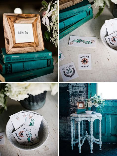 Mint   Turquoise Nautical Wedding Inspiration   Green