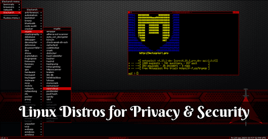The Top 10 GNU/Linux Distros for Privacy & Security