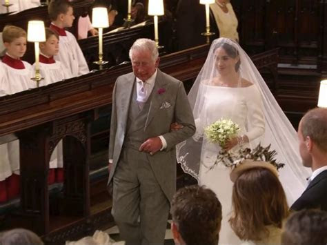 Markle?s bridal gown work of Givenchy?s Clare Waight