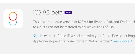 iOS 9.3 bêta 3 est disponible ~ iOS 9.2 Jailbreak Update