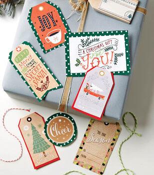 Holiday Gift Tag Printables