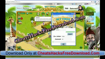 My Free Zoo Cheats For Diamonds and Zoo Dollars Hacks Tool