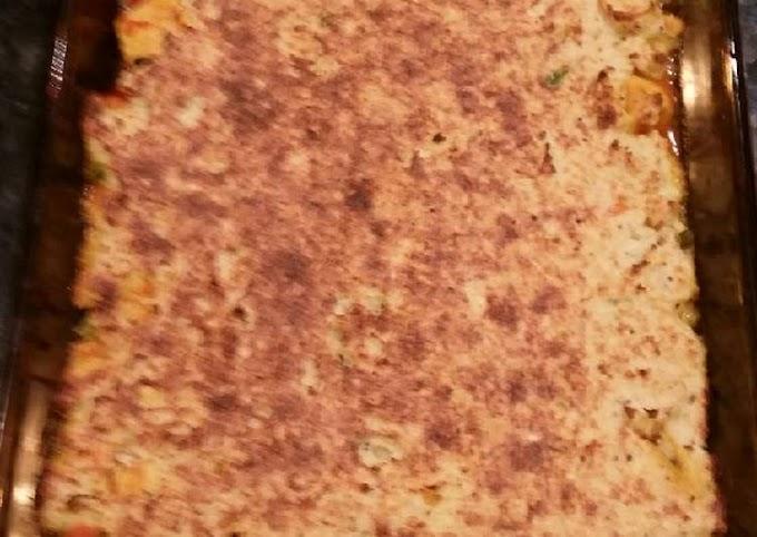 Recipe: Delicious Keto chicken pie