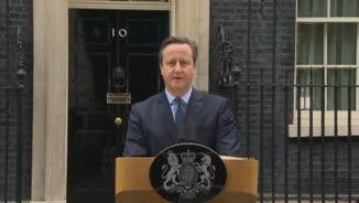 Cameron ha anunciat la data del referèndum a les portes de Downing Street