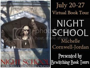 Night School tour poster Bewitching Book Tours