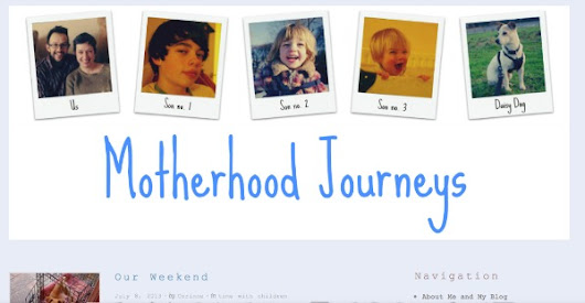 MaSh My Blog: Motherhood Journeys critique «  Mothers & Shakers | Boutique Social Media Collective