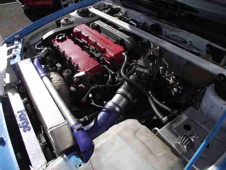 Rover Tomcat Turbo Racing car. Ex Dunlop series car. Coupe