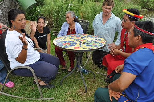 Rosina Phillipe talks about oil impact on her community
