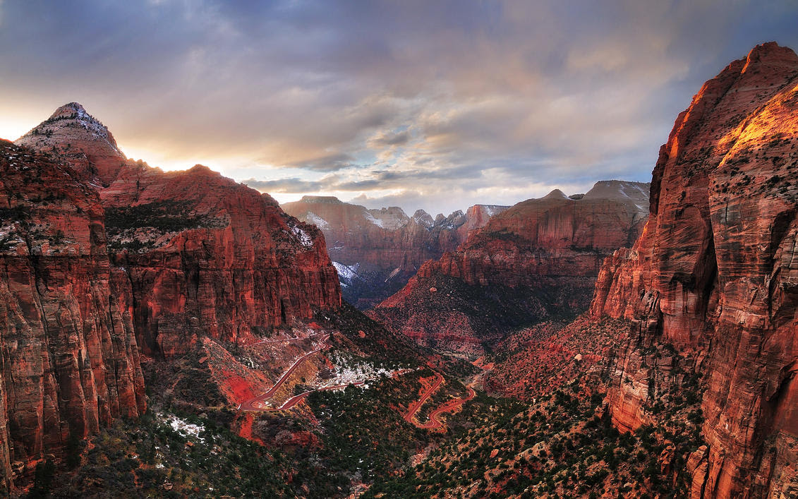 Zion Canyon Wallpaper Wallpapers Zones