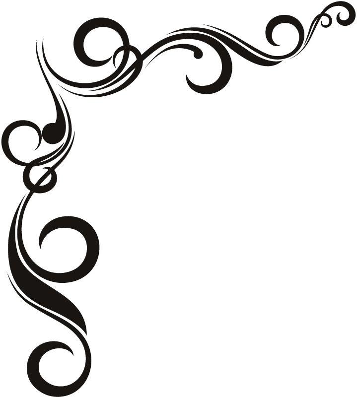 Flower Border Clipart Black And White Free Download Best Flower