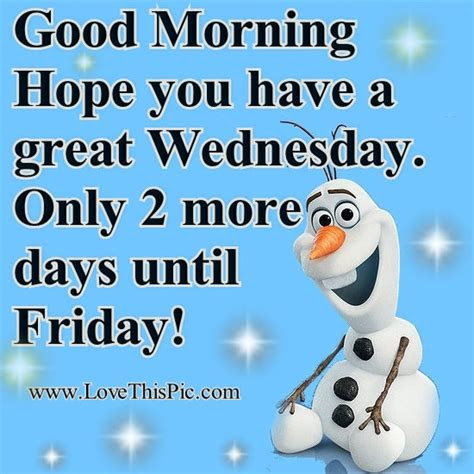 Good Wednesday Morning Quotes