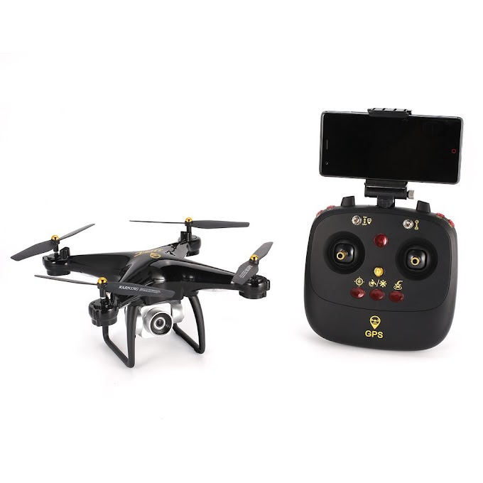 JRC H68G GPS Drone With 1080P HD 5G Wifi FPV Camera Quadrocopter Selfie Dual Altitude Hold Drone Auto Follow RC Drone Xmas Gift