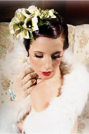 Lady Astor Floral Headband, by Samantha Sultana