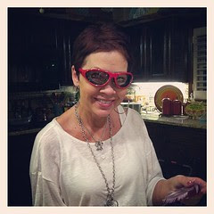 now you know where I get my good looks and onion goggles from!