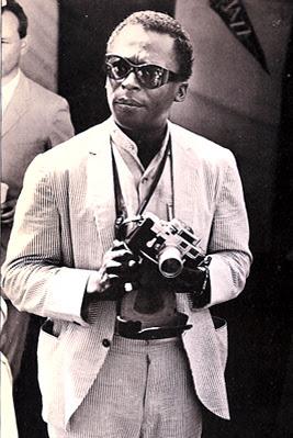 miles davis Des gens célèbres avec des appareils photos  photo liens divers bonus