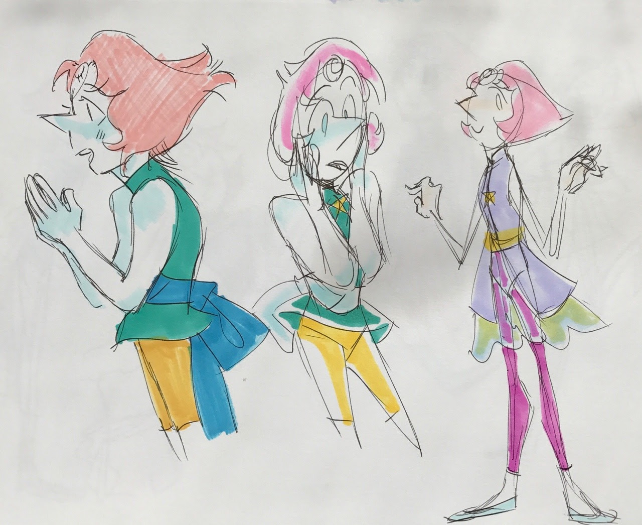 Pearls featuring different outfit ideas