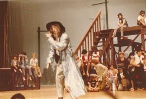 JLO's 1972 production of Oliver! on the set I designed