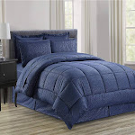 8-Piece Silky Soft Beautiful Design Complete Bed-i